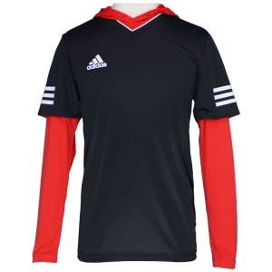 TANGO CAGE レイヤリングシャツ ブラック×レッド【 ウェアー 】