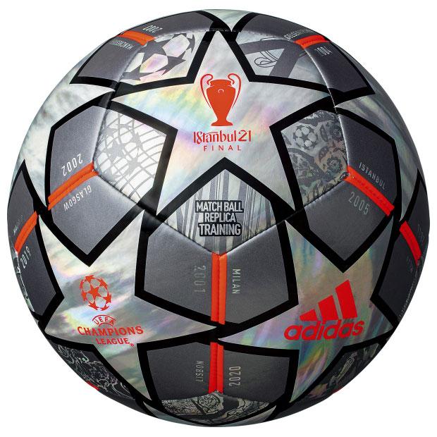 UEFA チャンピオンズリーグ 20-21 決勝トーナメント 公式試合球レプリカ フィナーレ トレーニング  af4402tw