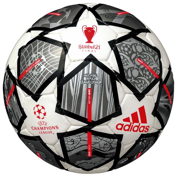 UEFA チャンピオンズリーグ 20-21 決勝トーナメント 公式試合球レプリカ フィナーレ ルシアーダ  af5401tw