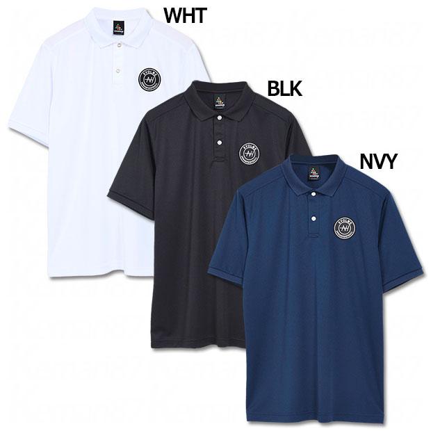 EMBLEM 半袖ポロシャツ  1211-84100