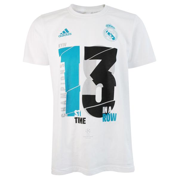 レアルマドリード UCLチャンピオンTシャツ  ucl1718-real