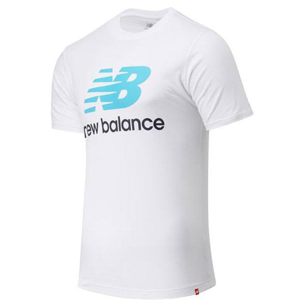 エッセンシャルズ スタックドロゴ 半袖Tシャツ  mt01575-vls バーチャルスカイ