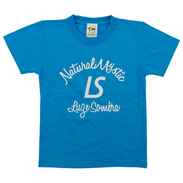 ジュニア NATURAL MYSTIC 半袖Tシャツ  l2213201-tblu ターコイズブルー