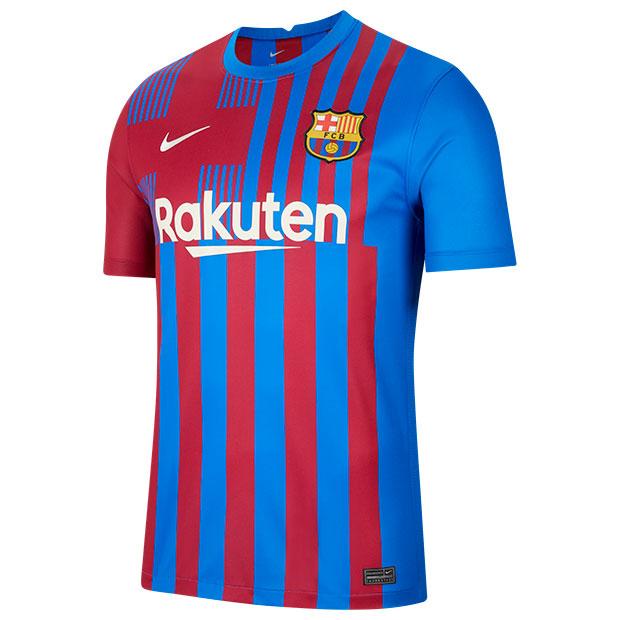 FCバルセロナ 21-22 ホーム 半袖レプリカユニフォーム  cv7891-428