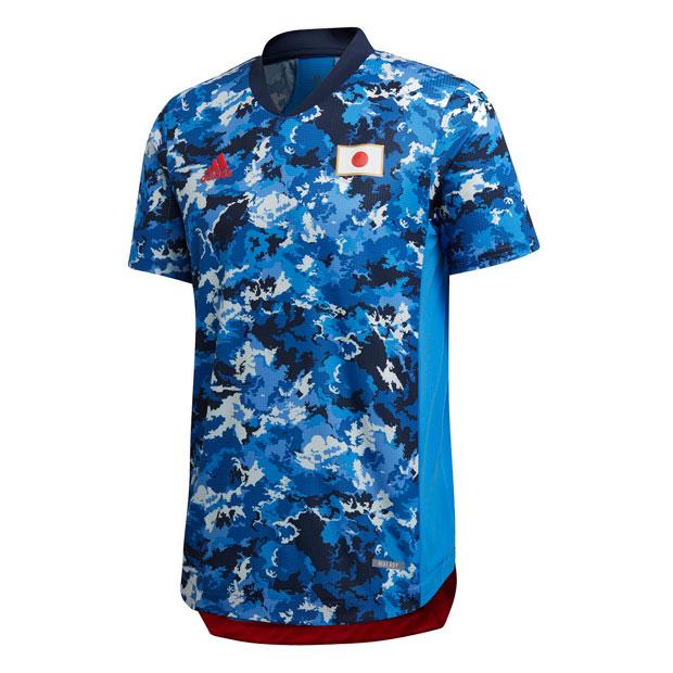 サッカー日本代表 2021 ホーム オーセンティック ユニフォーム OL 半袖  gem39-ed7378
