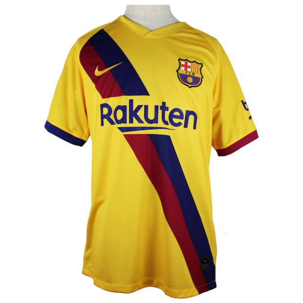 FCバルセロナ 19-20 アウェイ 半袖レプリカユニフォーム  aj5531-728