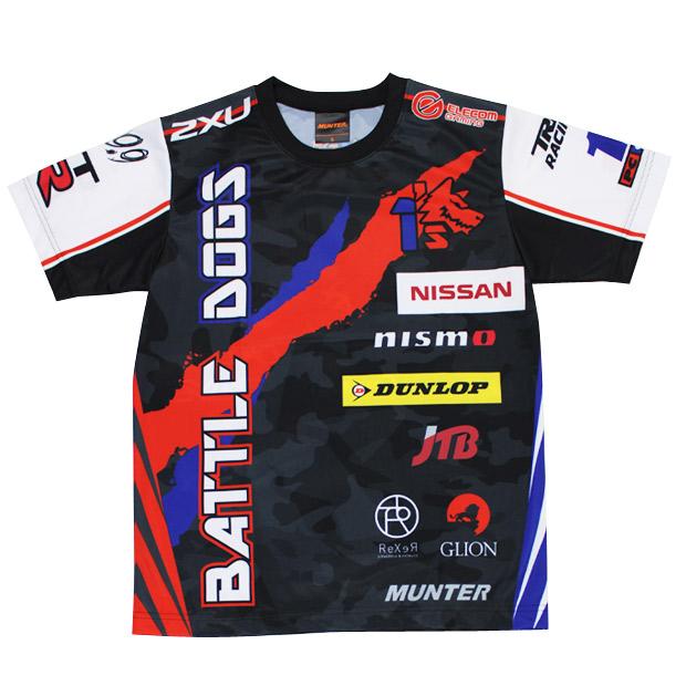 1's BATTLE DOGS 半袖レプリカシャツ  obdrt-ot191