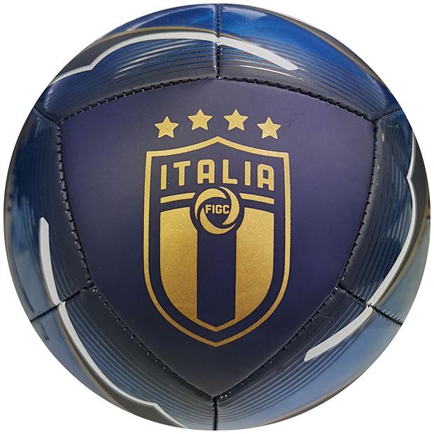 イタリア代表 FIGC アイコン ミニボール  083347-02-min ネイビー×ブルー