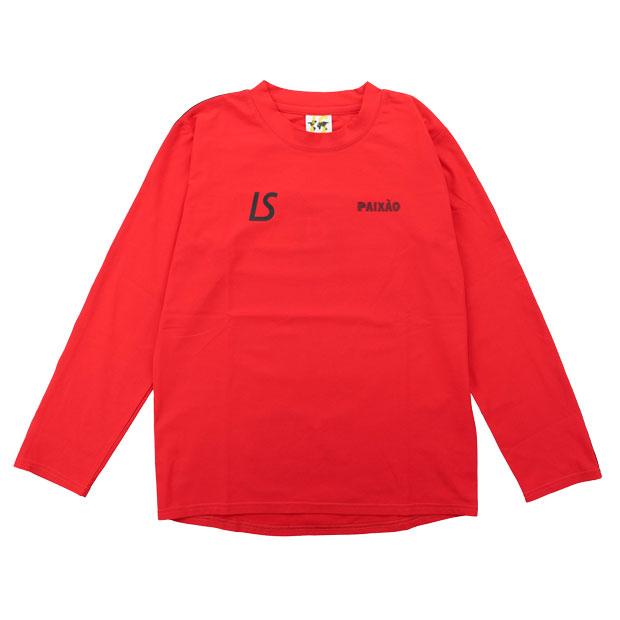 ジュニア PX NJ 長袖プラクティスシャツ  l2212001-red レッド