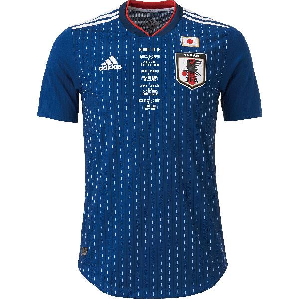 アディダス サッカー日本代表 メモリアル ホーム オーセンティックユニフォーム 半袖  cl4714-br3628