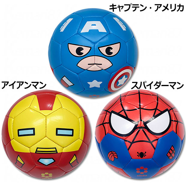 AVENGERS SERIES SOCCER BALL MARVEL COLLECTION  sb-21mv02 コミカライズ柄(idol)
