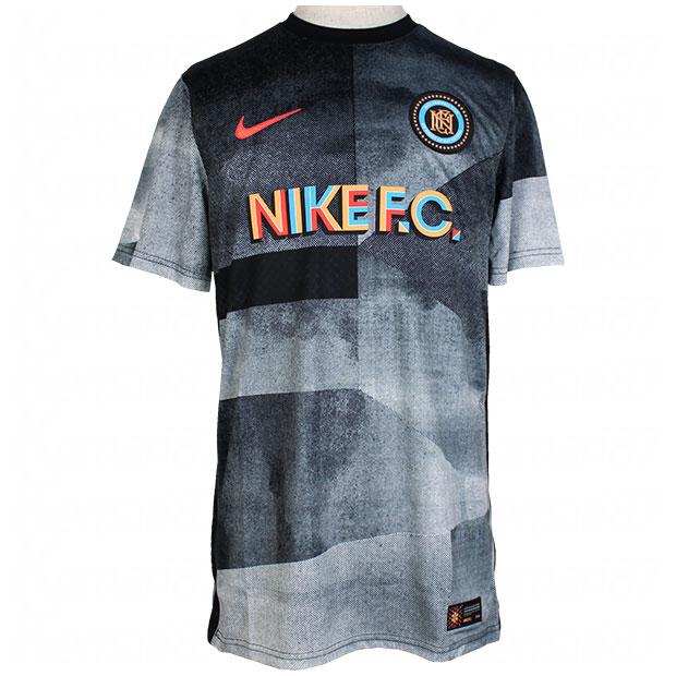 NIKE F.C. サウスメキシコ 半袖プラクティスシャツ  ct2505-010 ブラック