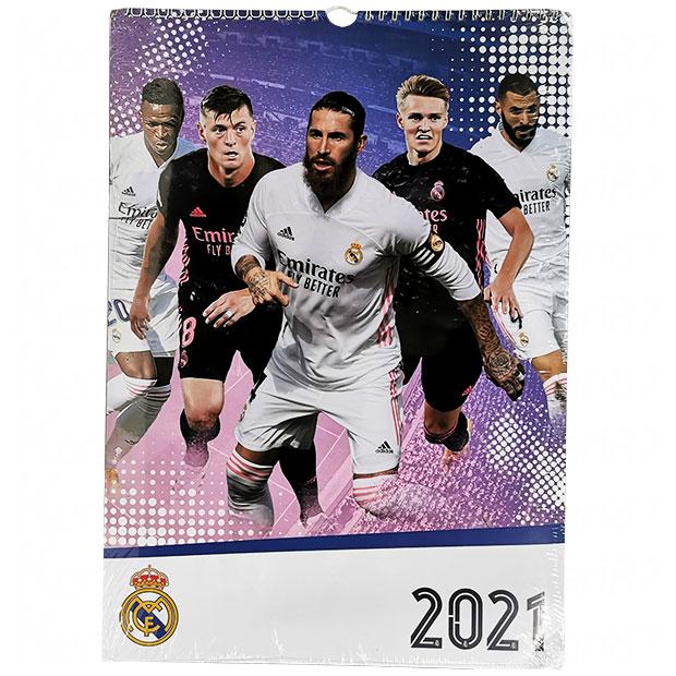 レアルマドリッド 2021年 壁掛けカレンダー  rm2021e