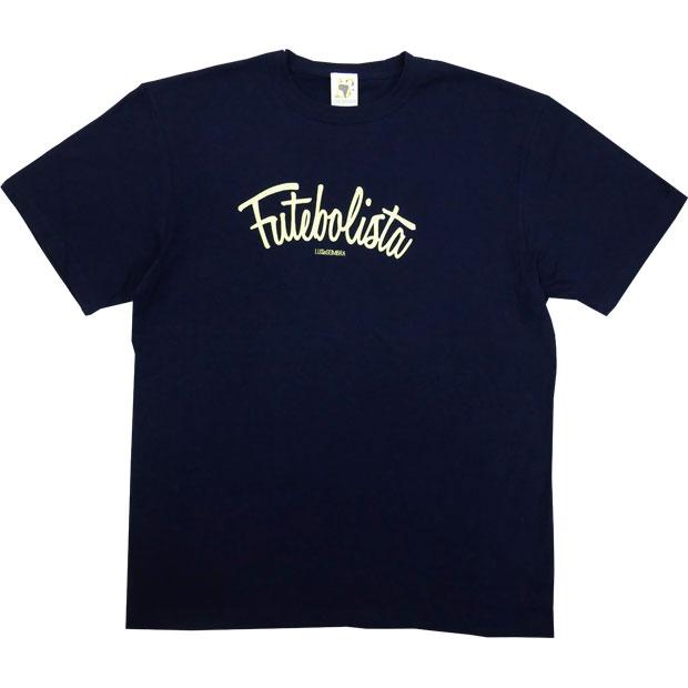 フッチボリスタ 半袖Tシャツ  12048ks-nvynye ネイビー×Nイエロー