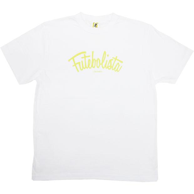 フッチボリスタ 半袖Tシャツ  12048ks-whtnye ホワイト×Nイエロー
