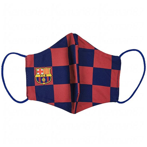 FCバルセロナ マスク  fcbmasc1t-a ネイビー×レッド