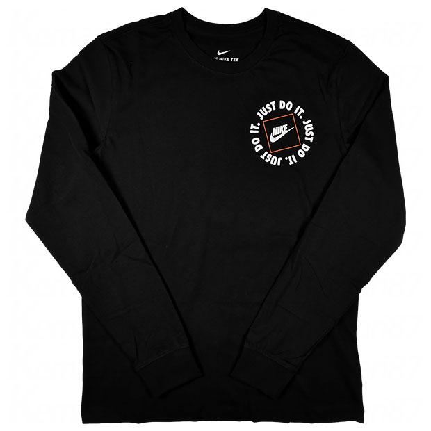 NSW JDI 1 長袖Tシャツ  da0333-010 ブラック