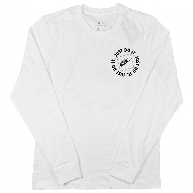 NSW JDI 1 長袖Tシャツ  da0333-100 ホワイト