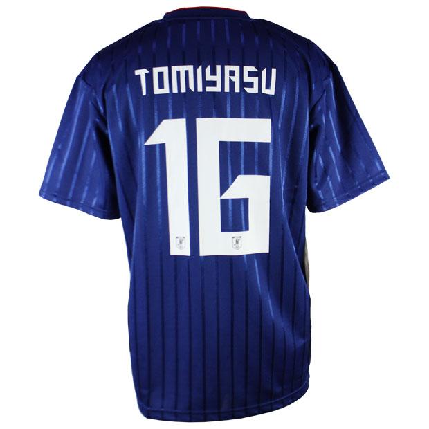 日本代表 2019 プレーヤーズTシャツ 16.冨安健洋 19fw-jfa-16-t