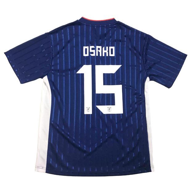 日本代表 2019 プレーヤーズTシャツ 15.大迫勇也 19ss-jfa-15-o