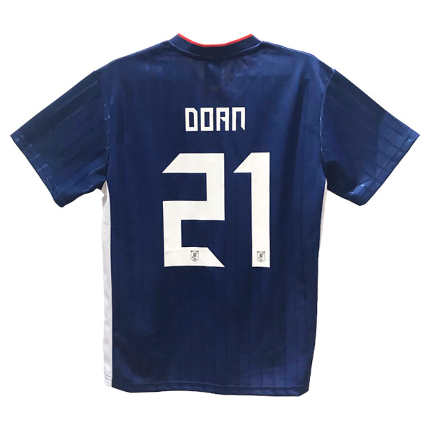 日本代表 2019 プレーヤーズTシャツ 21.堂安律 19ss-jfa-21-d
