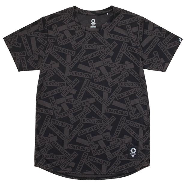 半袖Tシャツ 東京2020オリンピックエンブレム  2031b406-001 ブラック