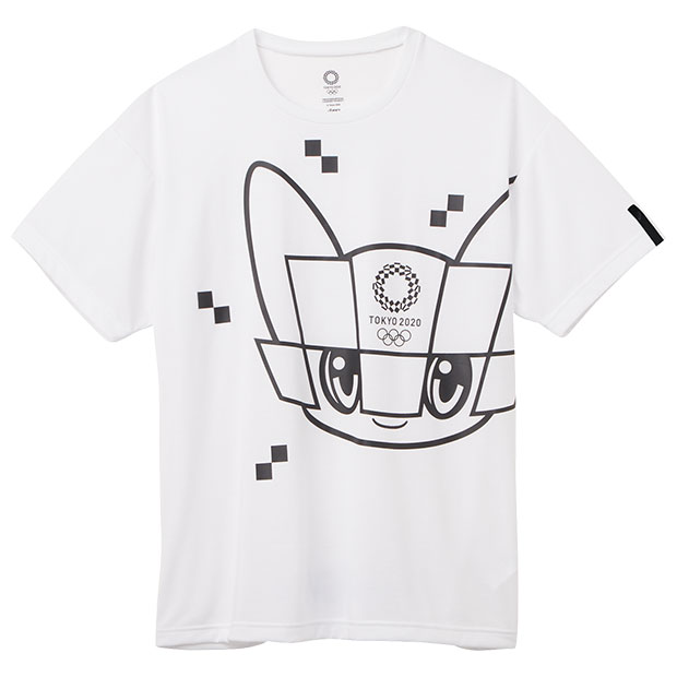 半袖Tシャツ 東京2020オリンピックマスコット  2033a204-100 ホワイト