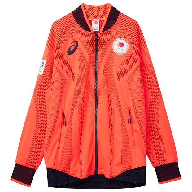 ポディウムジャケット JOCエンブレム  2033a445-600 サンライズレッド