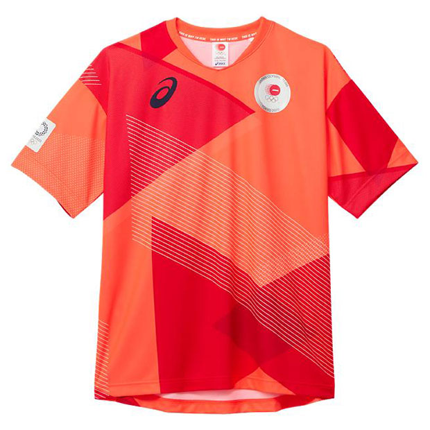 半袖Tシャツ JOCエンブレム  2033a455-600 サンライズレッド