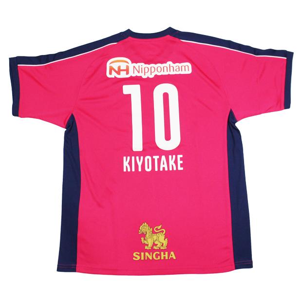 セレッソ大阪 2020 コンフィット半袖Tシャツ 10.清武弘嗣 20ss-co-10-k