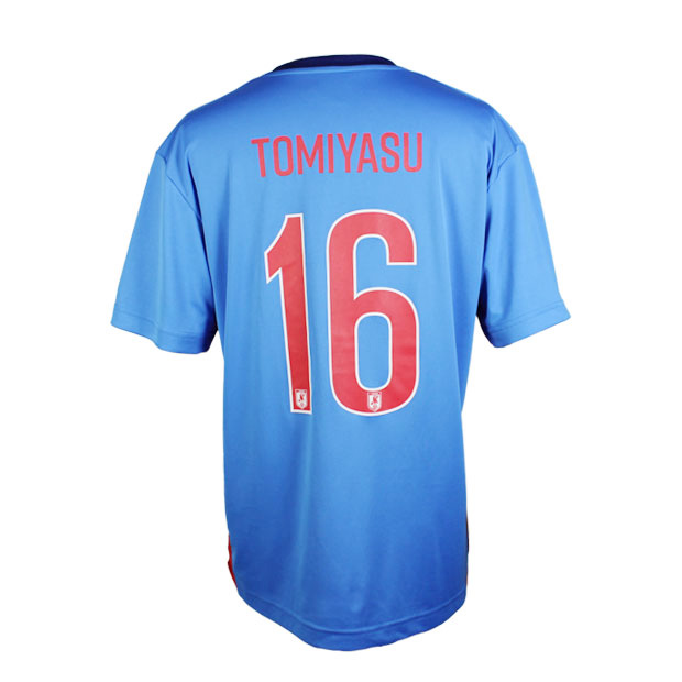 日本代表 2020 プレーヤーズ半袖Tシャツ 16.冨安健洋 20ss-jfa-16-t