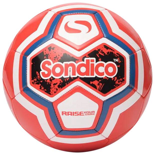 サッカーボール  21-821019-rd-4 レッド