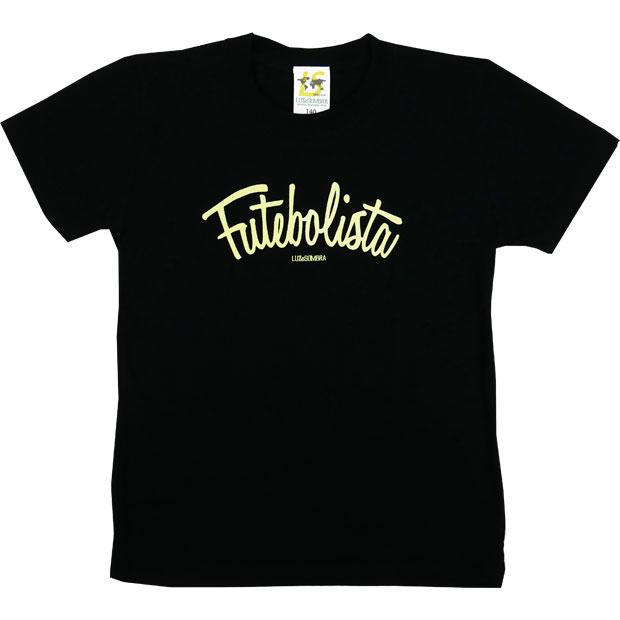 ジュニア フッチボリスタ 半袖Tシャツ  22049ks-blknye ブラック×Nイエロー