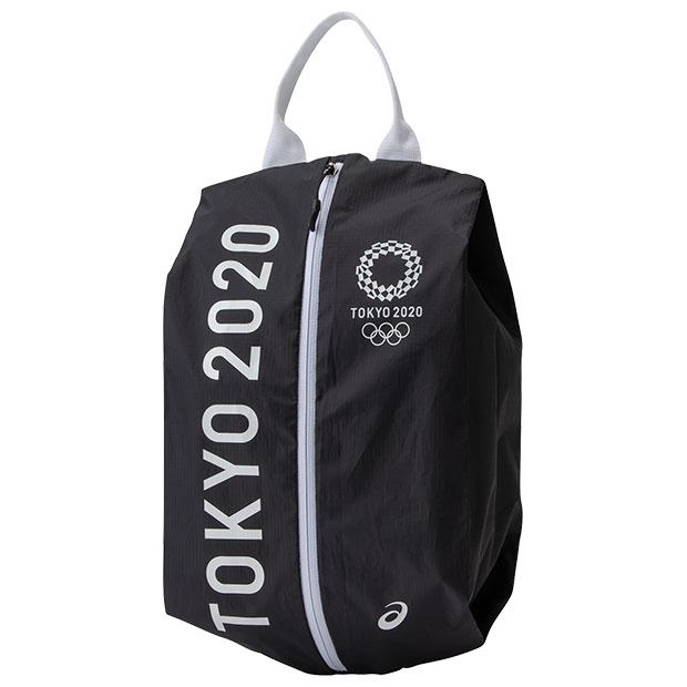 シューズケース 東京2020オリンピックエンブレム  3033a438-001 ブラック
