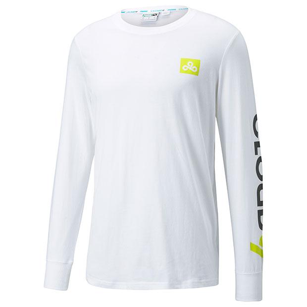 Cloud9 CARRY ON 長袖Tシャツ  531802-01 プーマホワイト
