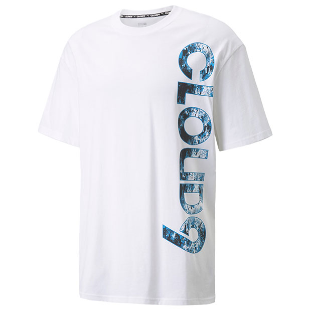Cloud9 ビッグロゴ 半袖Tシャツ  532384-05 プーマホワイト