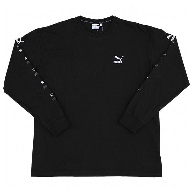 CLASSICS 長袖Tシャツ  532813-01 ブラック