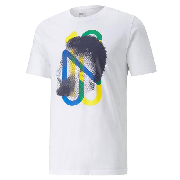 NJR 5.0 半袖Tシャツ  605553-41 プーマホワイト