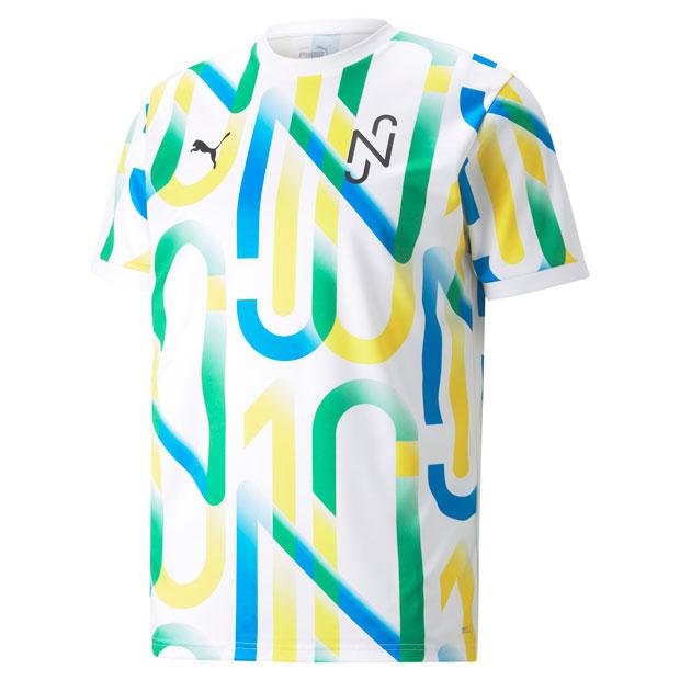 NJR COPA グラフィック半袖シャツ  605568-05 プーマホワイト