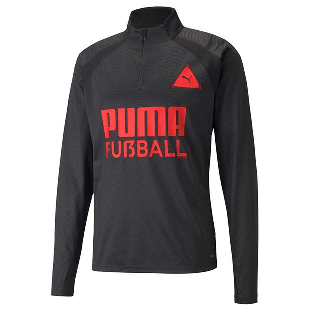 FUSSBALL PARK トレーニングトップ  657791-03 プーマブラック