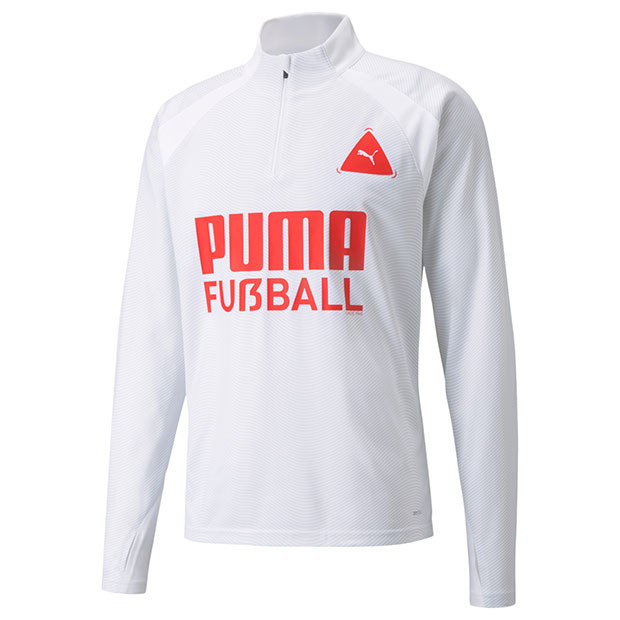 FUSSBALL PARK トレーニングトップ  657791-04 プーマホワイト