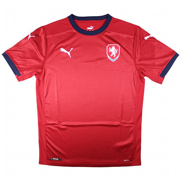 チェコ代表 2020 ホーム 半袖レプリカユニフォーム  756493-01
