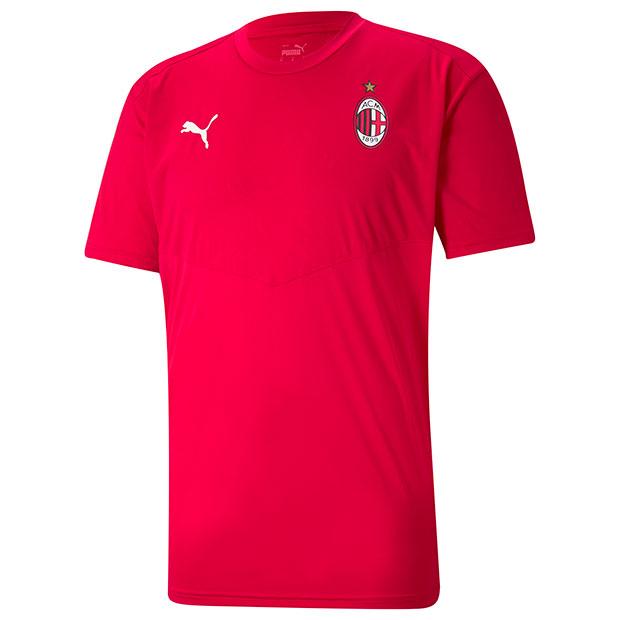 ACミラン ウォームアップ半袖Tシャツ  758632-01 タンゴレッド