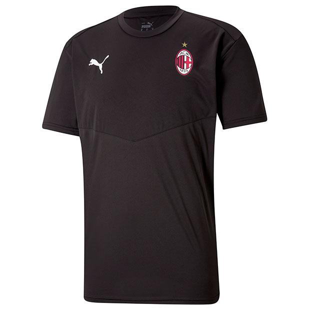 ACミラン ウォームアップ半袖Tシャツ  758632-02 プーマブラック