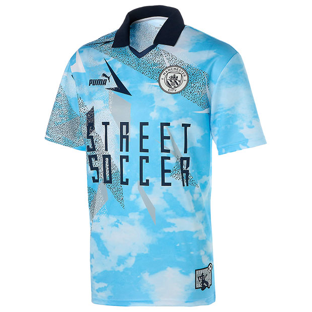 マンチェスターシティ STREET SOCCER 半袖Tシャツ  758801-01 チームライトブルー