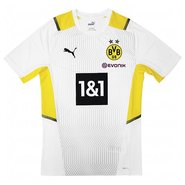 ドルトムント TR 半袖シャツ  759063-08 プーマホワイト