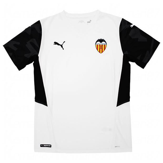 バレンシア 21-22 ホーム 半袖レプリカユニフォーム  759336-01