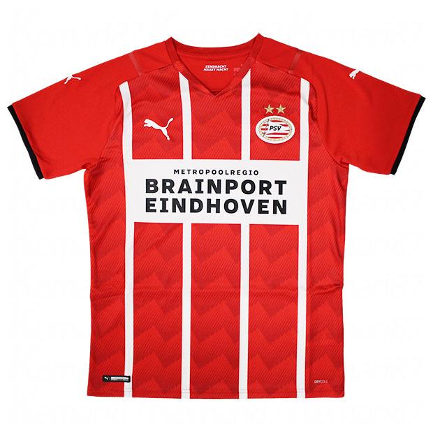 PSV 21-22 ホーム 半袖レプリカユニフォーム  759363-01