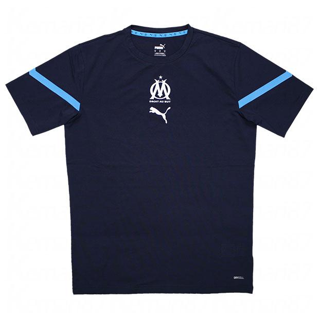 オリンピックマルセイユ PM 半袖シャツ  759533-02 ピーコート