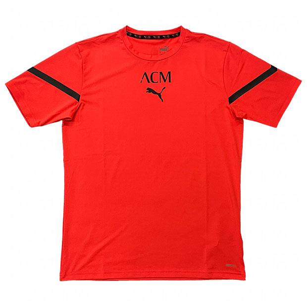 ACミラン プレマッチ 半袖シャツ  764442-20 レッドブラスト
